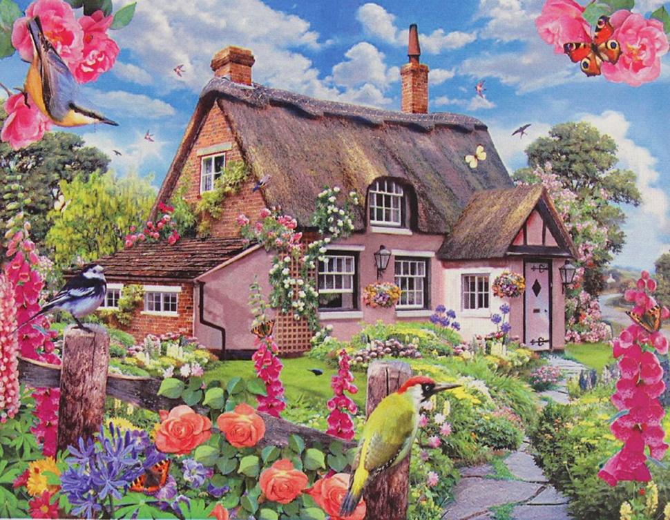 Картинки пазл дом